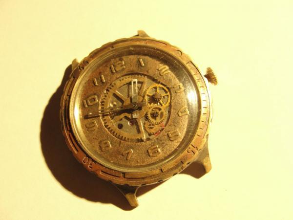 """Часы """"Слава"""", мой первый опыт в моддинге часов. (Фото 2)"""