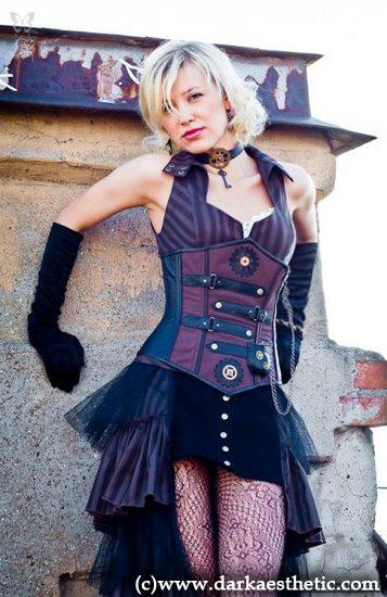 Фотосет коллекции SteamPunk Cabaret