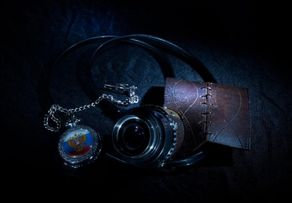 Полумаска, собранная на коленке. (Фото 4)