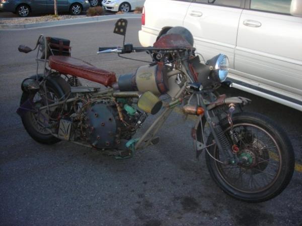 мотоцикл Dave Geertsen (Фото 3)