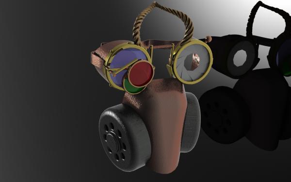 Работа на конкурс Steampunk-Vision 3D в Студию, автор Roman