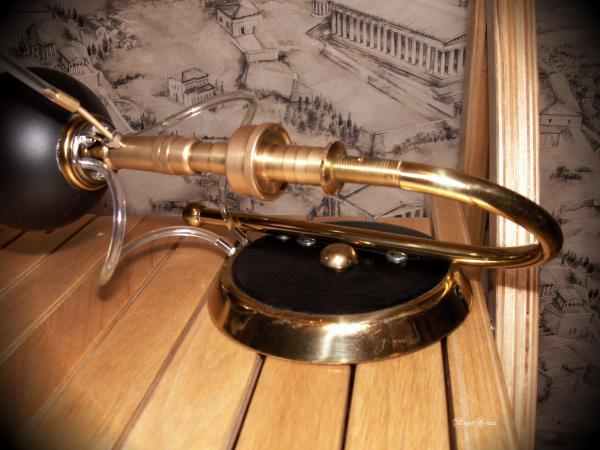 Стимпанк лампа № 1. (Фото 2)