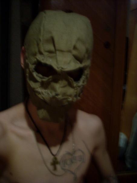 Мои маски и ещё пара творений) (Фото 3)
