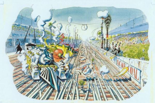 Гоночные локомотивы Ле-Мана