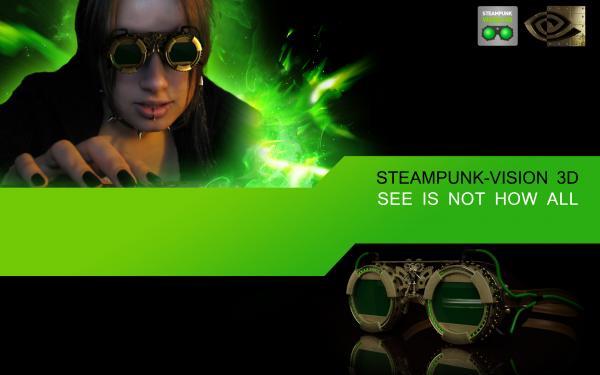 Работа на конкурс Steampunk-Vision 3D в Студию, автор Denis Badamshin