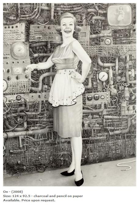 Laurie Lipton. Стимпанк сюрреализм. (Фото 6)
