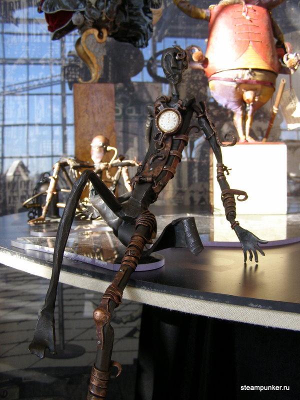 """Стимпанк стенд на """"Олдтаймер-галерее"""" 7-10 октября 2010 (Фото 25)"""