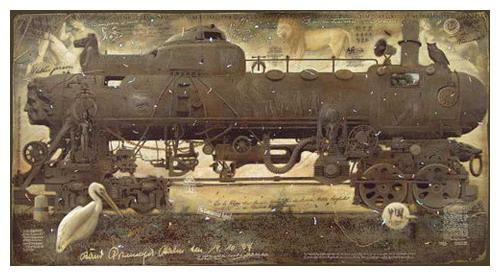 Живопись, лубок, и железнодорожные мутанты... (Фото 6)