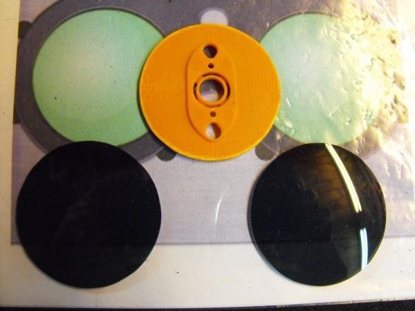 "Гогглы   Монте Кристо  для конкурса  ""STEAMPUNK-VISION 3D"" от NVIDIA .  №3 (Фото 6)"