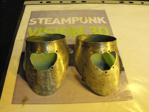 "Гогглы   Монте Кристо  для конкурса  ""STEAMPUNK-VISION 3D"" от NVIDIA .  № 1 (Фото 13)"