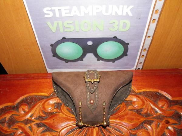 "Футляр под гогглы Монте Кристо для конкурса""STEAMPUNK-VISION 3D"" от NVIDIA   №6 (Фото 24)"