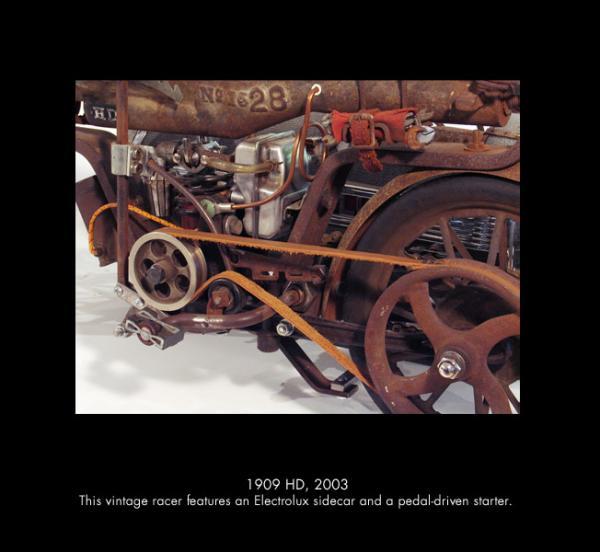 Michael Ulman - арт на колесах. (Дизельпанк) (Фото 12)