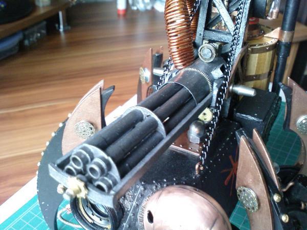 Имперский автономный ударно-разведывательный паровой дрон (Фото 13)
