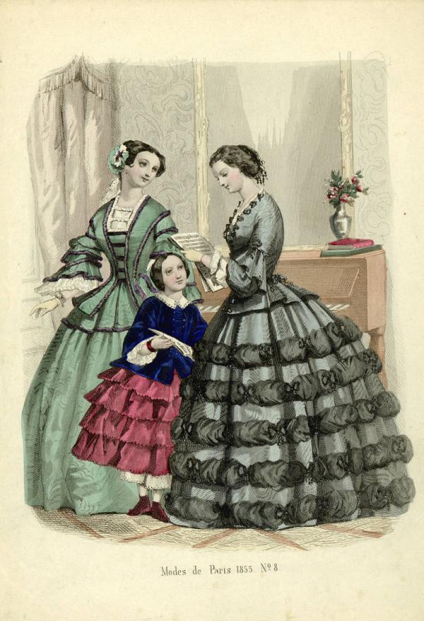 Переменчивая мода Викторианской эпохи (Фото 15)