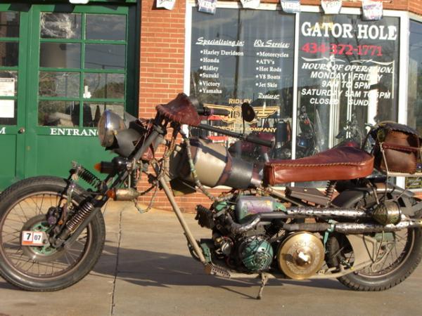 мотоцикл Dave Geertsen (Фото 8)
