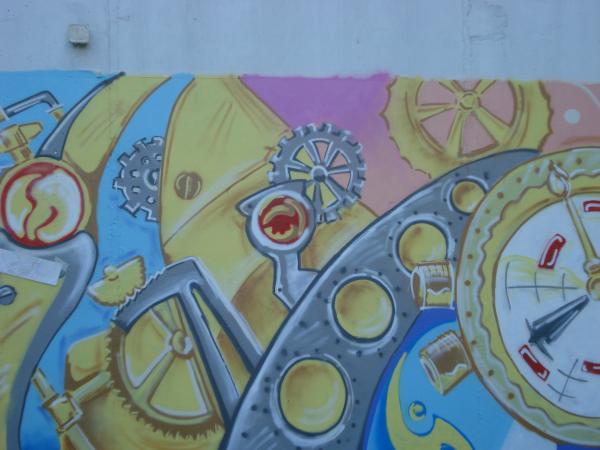 Стим-граффити