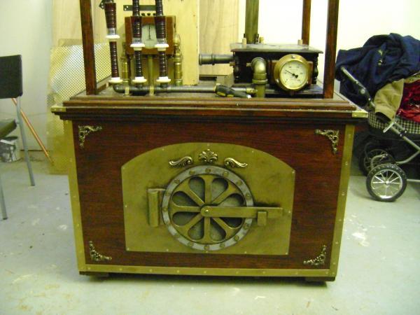 Стимпанк инструмент - steamdrone