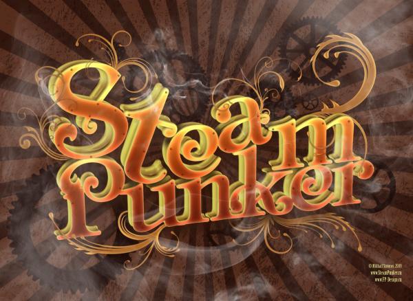 """Аукцион номер два - плакат """"SteamPunker"""" от MIX'а"""