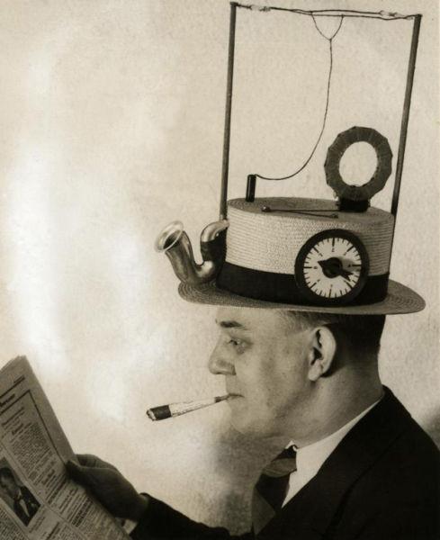 Шляпа-радио