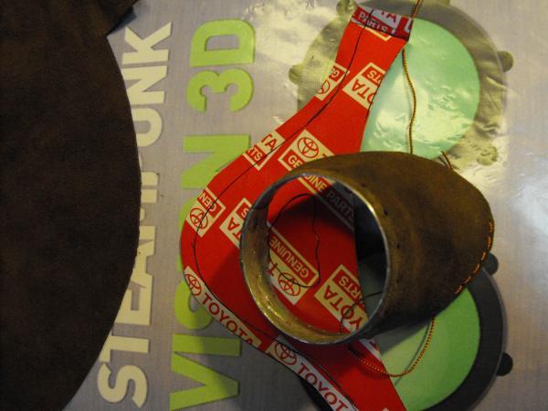 "Гогглы   Монте Кристо  для конкурса  ""STEAMPUNK-VISION 3D"" от NVIDIA .  № 1 (Фото 21)"