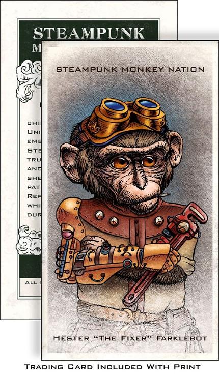 Дарвинизм по стимпанкерски (Фото 8)