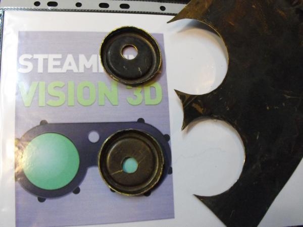 "Гогглы   Монте Кристо  для конкурса  ""STEAMPUNK-VISION 3D"" от NVIDIA .  № 1"