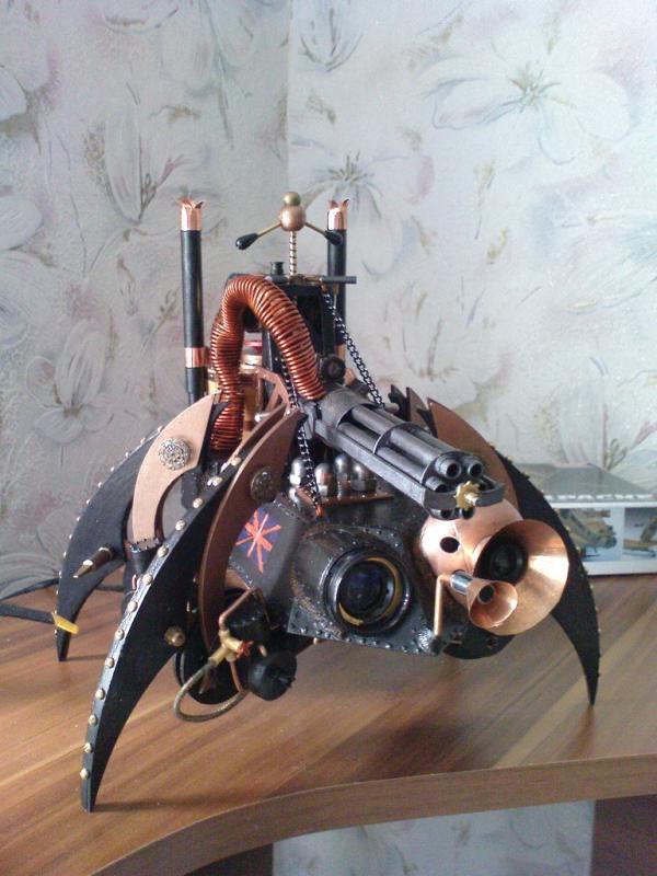 Имперский автономный ударно-разведывательный паровой дрон (Фото 11)