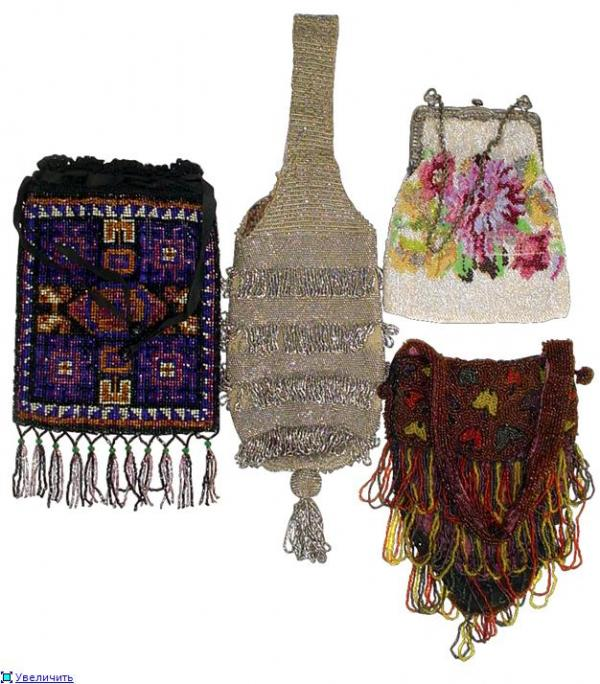 Дамские сумочки в Викторианскую эпоху (Фото 12)
