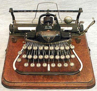 История печатных машинок (Фото 3)