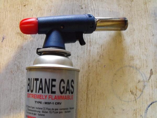Горелка газовая ручная своими руками фото 860