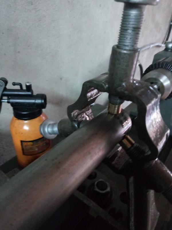 Самодельный люнет из металлолома для СКМ - 160