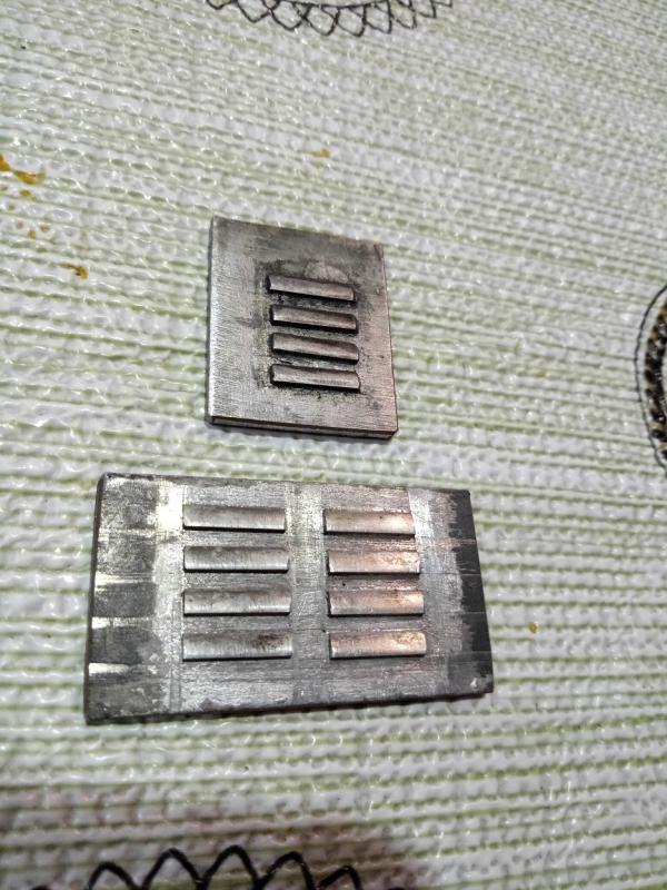 Вентиляционные решетки жабры.Метод изготовления.