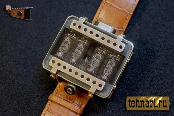 c49c96e3cd73 Наручные часы на газоразрядных индикаторах