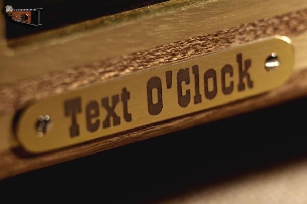 Настольные часы Time O'Clock