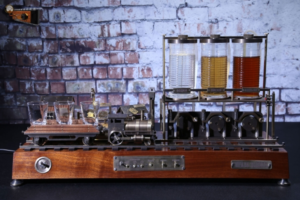 Наливающее устройство с возможностью выбора напитков «Право выбора»