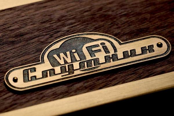 Настольные часы «Спутник Wi-Fi»