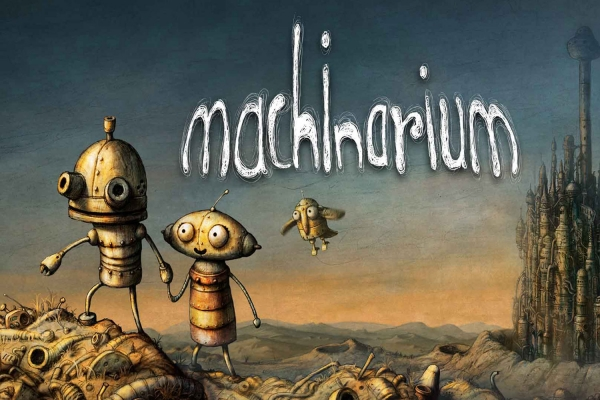 Наливатор по мотивам игры «Machinarium»