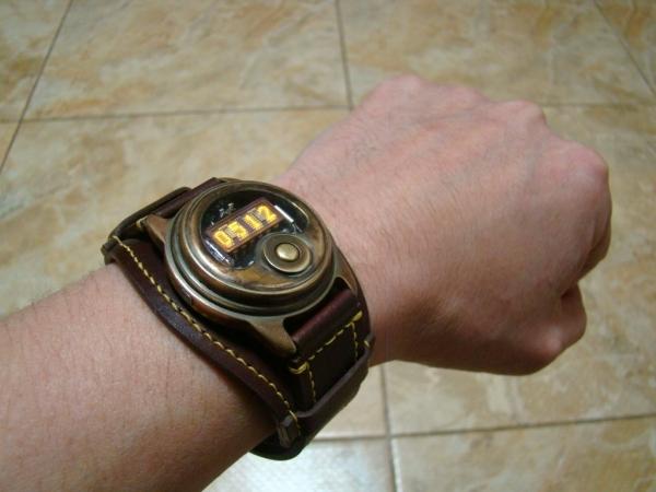 67f1fd24 Наручные часы на светодиодной матрице / Наши пользователи / Блошиный ...