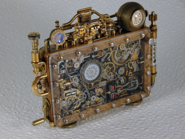 Steampunk или clockpunk Portable Time Machine 3 (Фото 2)
