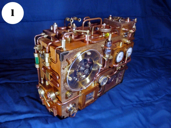 Steampunk Clock. Финиш