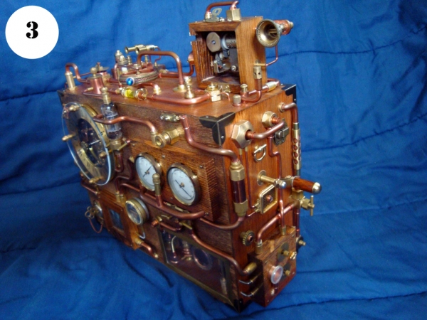 Steampunk Clock. Финиш (Фото 3)