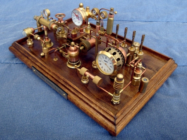 Steampunk Clock 3. Станция.