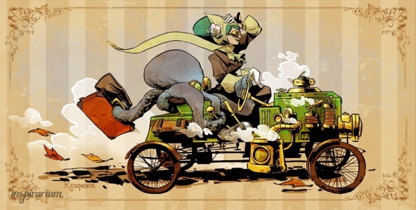 Brian Kesinger «An octopus is a lady's best friend!» (Фото 6)