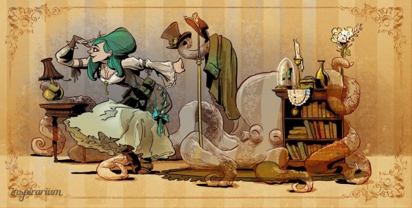 Brian Kesinger «An octopus is a lady's best friend!»