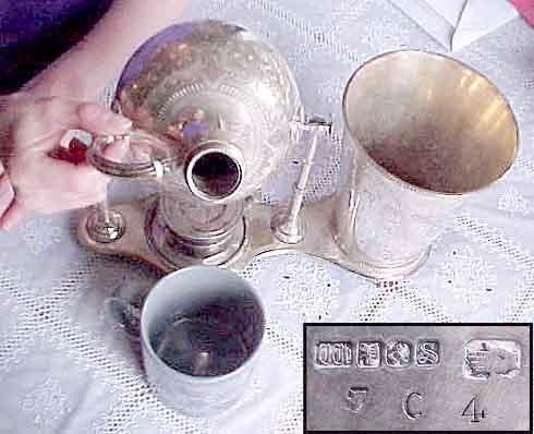 Кое-что из истории кофейного аппарата: Кофеварка Нейпера (Фото 3)