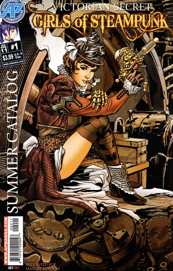Victorian Secret Girls Of Steampunk Summer Catalog #1 (2011)