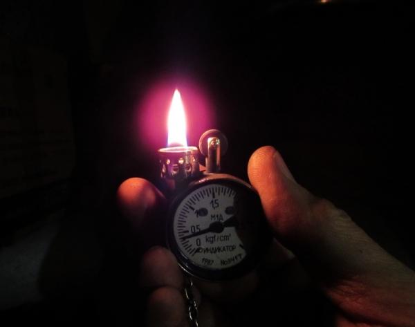 Зажигалка манометр. Номер 156.