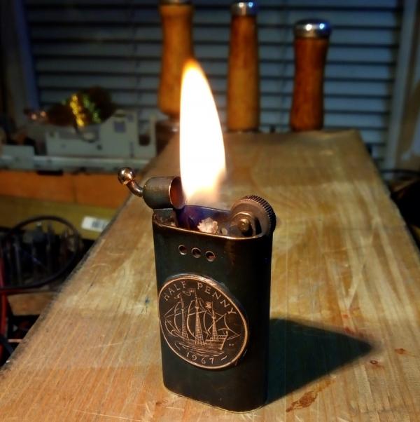 Зажигалка 164, с ворком.