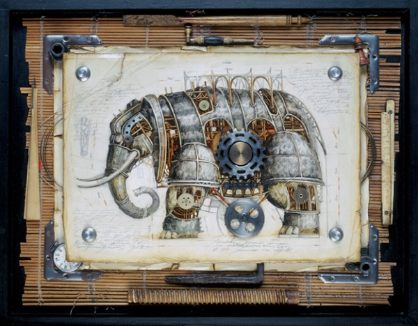 Steampunk animals