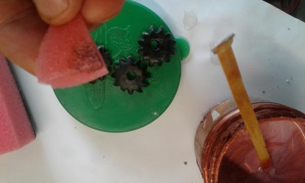 Как самому сделать шестеренки для стимпанка